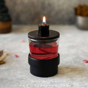 شمع مخزندار جادو مشکی