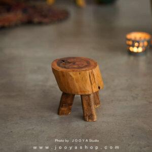 استند چوبی ریشه