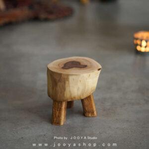 استند چوبی کرم