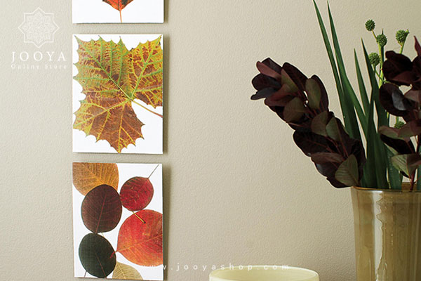 چاپ کردن تصویر برگها برای دیوار خانه