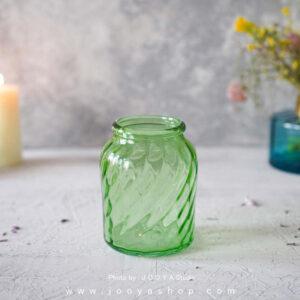 گلدان شیشهای کوچک مانیا