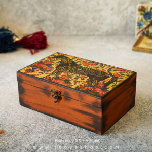 جعبه چوبی طرح بهشت