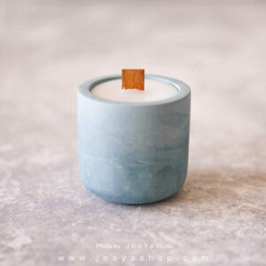 شمع بتنی آبی