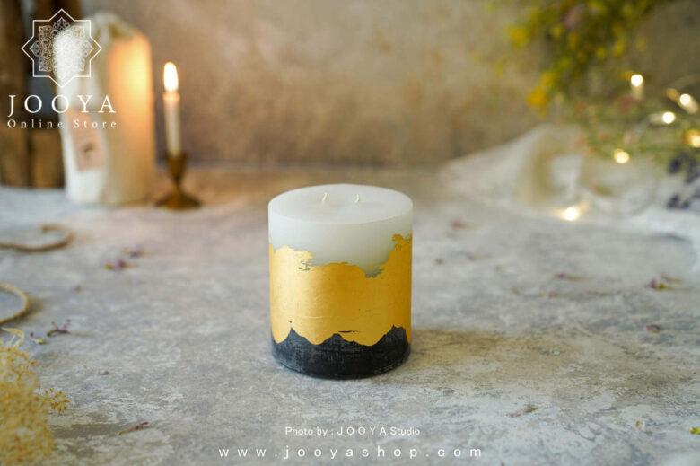 شمع ورق طلای زیوا