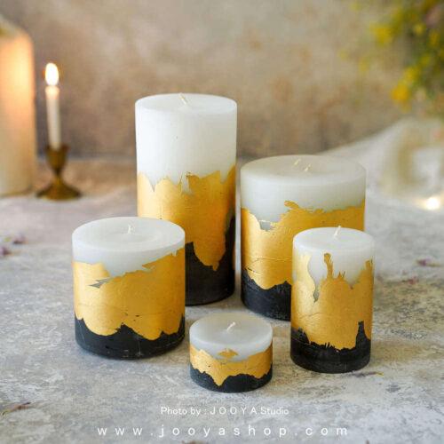 شمع ورق طلا