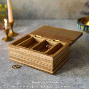جعبه جواهرات چوبی آرا