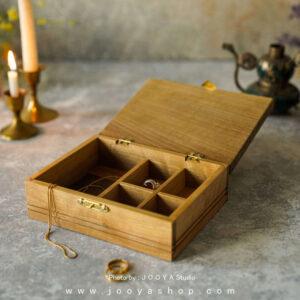 جعبه جواهرات چوبی یاد