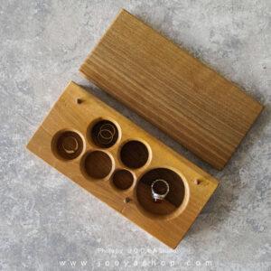 جعبه جواهرات چوبی هور