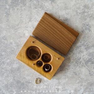 جعبه جواهرات چوبی دختر