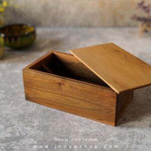 جای قاشق و چنگال چوبی گردو