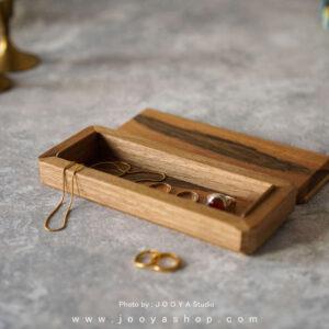 جعبه جواهرات چوبی عشق