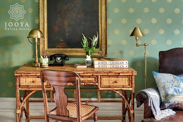 تزیین میز کار در منزل یا محیط کار با ۱۵ روش جذاب و شیک