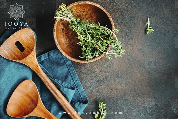 حفظ رایحه غذا با قاشقهای چوبی