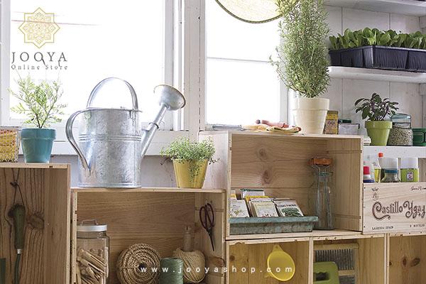 از جعبههای چوبی قدیمی، گلخانه بسازید