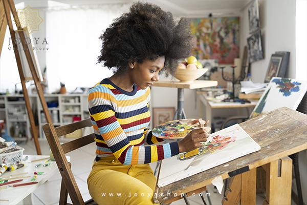 نقاشی با استفاده از رنگهای آکریلیک