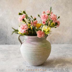 گلدان سفالی اختر