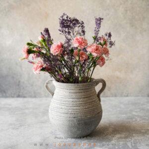 گلدان سفالی دیبا