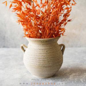 گلدان سفالی پرتو