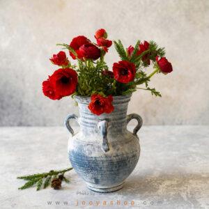 گلدان سفالی قدیم