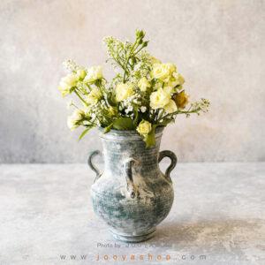 گلدان سفالی زمان