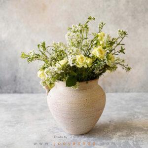 گلدان سفالی ارغوان