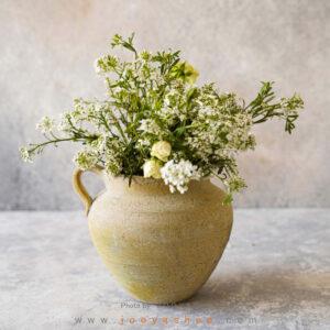 گلدان سفالی ایام