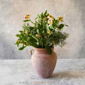 گلدان سفالی آخر