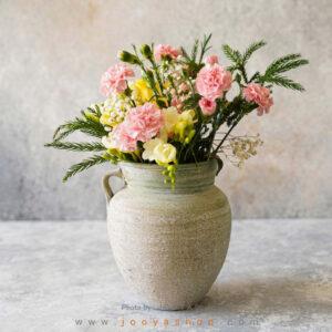 گلدان سفالی آذر