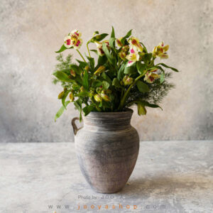 گلدان سفالی مهتاب