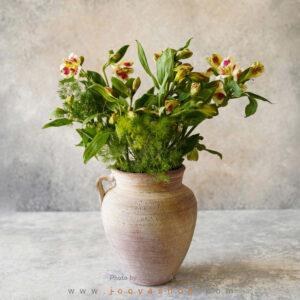 گلدان سفالی نرم