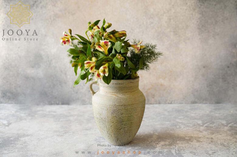 گلدان سفالی میسا