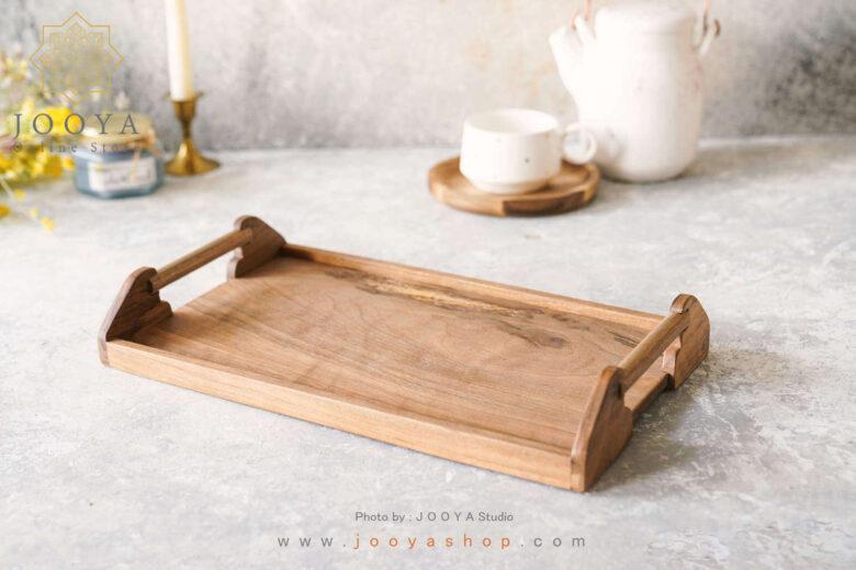 سینی چوبی رز