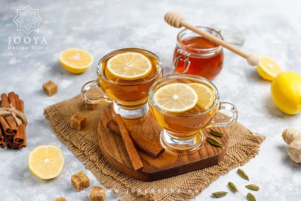 رفع گرمازدگی با دمنوش تابستانه لیمو