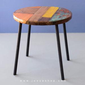میز چوبی روستیک لارکا