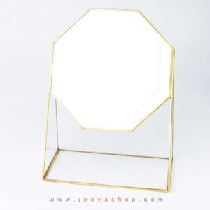 آینه رومیزی 8 ضلعی مدل یاقوت