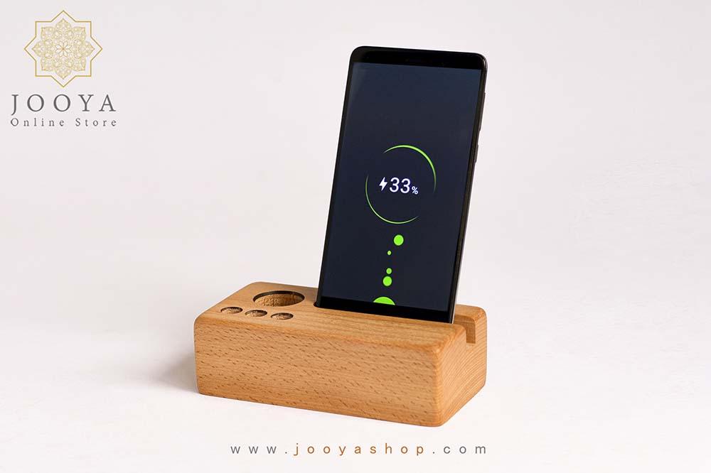 هولدر موبایل چوبی آتا
