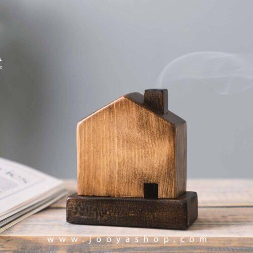 جاعودی چوبی کلبه