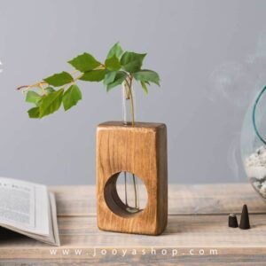 گلدان چوبی کیتو