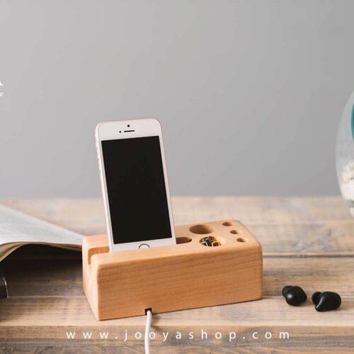 هولدر موبایل چوبی چانا