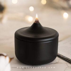 شمع مشکی ساده