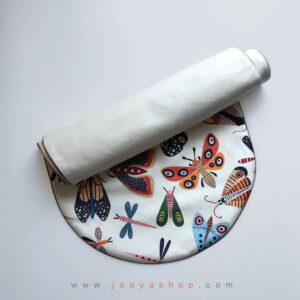 رانر لبه گرد طرح پروانه