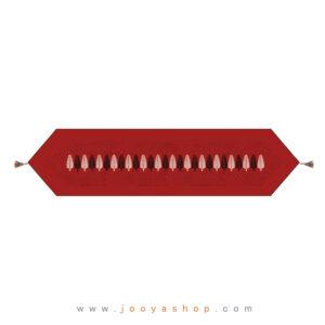 رانر منگوله دار لبه مثلث طرح کاج