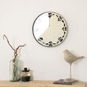 آینه دکوراتیو طرح بوته