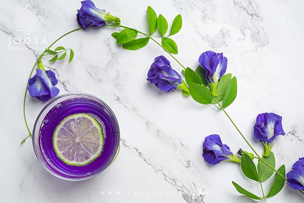گل بنفشه از بهترین دمنوش های مناسب فصل زمستان