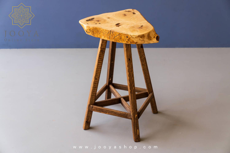 تصویر چهارپایه چوبی کبیر