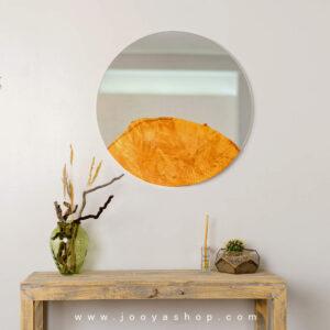 آینه روستیک طرح ابر و باد